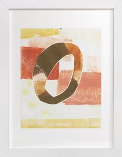 Circle Swatch II Art Print