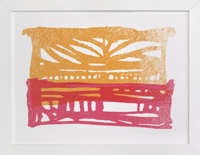 Meadowlark Series (one) Art Print