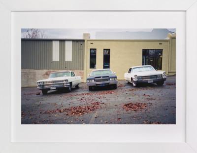 Three Cars Art Print