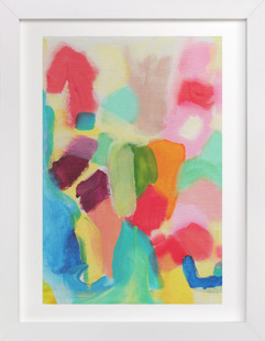 Color Blocking Art Print