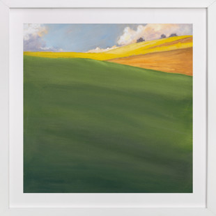 September Hill Art Print