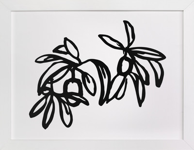 Inked Kumquat- Long Art Print