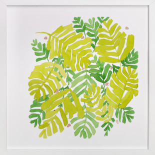fresh leaf Art Print