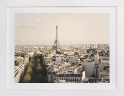 Paris View Art Print