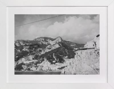 Amalfi Cliffs Art Print