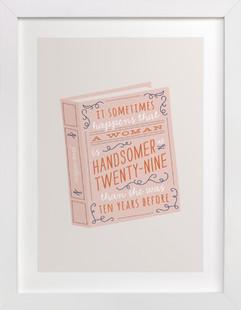 Miss Austen Art Print