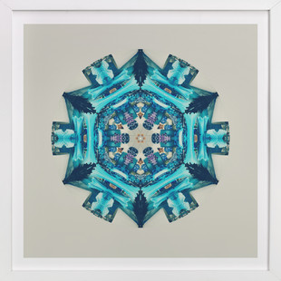 Blue Moon Room Art Print