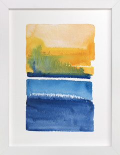 Sun And Sea Art Print