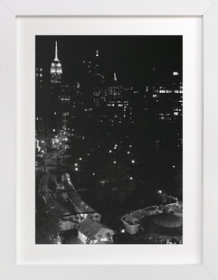 A Manhattan Night Art Print