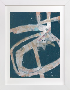 Black Axis Art Print