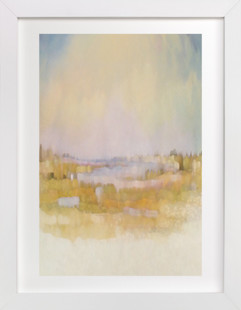 Fields at Sunrise Art Print