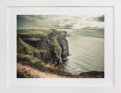 Cliffs of Moher in Color Art Print