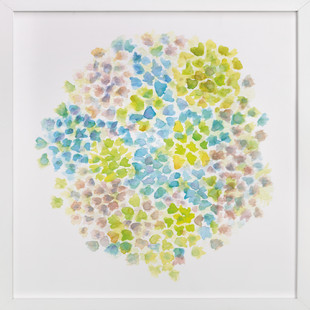 Hydrangeas In Bloom Art Print
