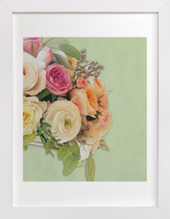 Daybreak in Versaille Art Print