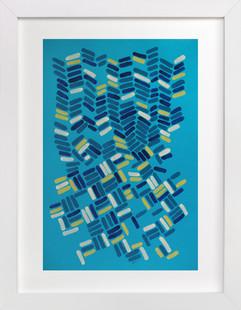 Organizing Art Print