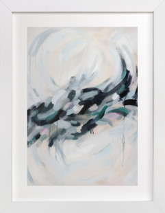 Swirling Reflection Art Print