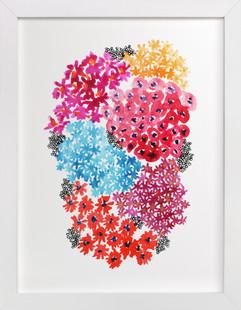 Cute floral Art Print