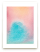 Watercolor Sky by Pip Gerard