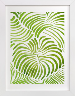Minted Forest Art Print