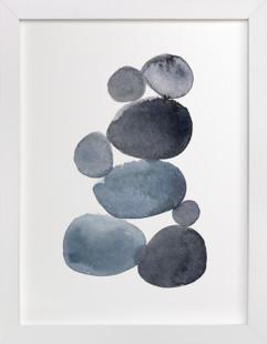 stone pile Art Print