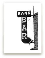 Bank Bar by Calais A Le Coq