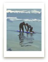 Surf lesson, Venice Beach