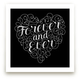 Flourished Forever Heart