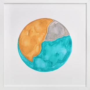 Sun-Kissed Earth Art Print