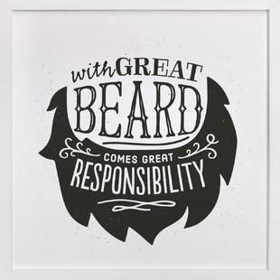 Great Responsibilities Art Print
