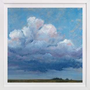 Cloud Observation Art Print