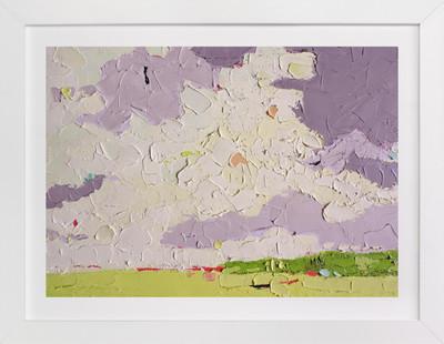 Lavender Sky Art Print