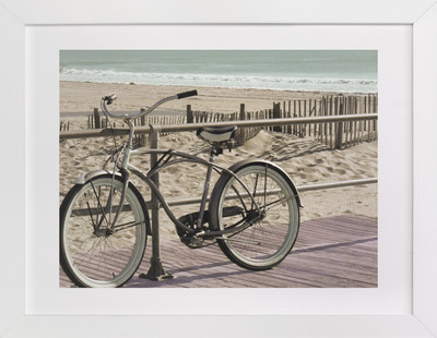 Along the Beach Art Print
