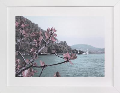 Como Lake Art Print