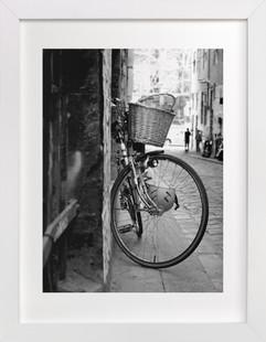 Bike alley Art Print