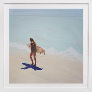 Surfer Bae 1 Art Print