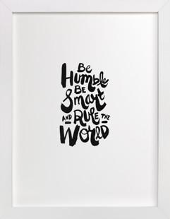 Humble World Art Print