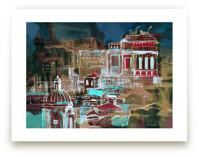 Venice at night by Oana Prints