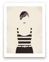 Striped Suit Art Prints