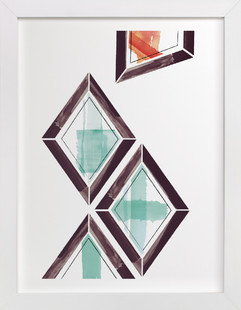 Geometry Uprising Two Art Print
