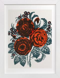 Dora's Floral Art Print