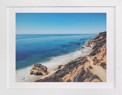 California Coastline Art Print