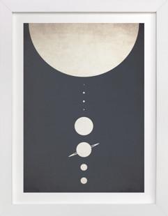 Planetary Neighbors Art Print