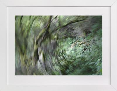 Verdant Swirl Art Print