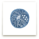 Fine Blue Floral II