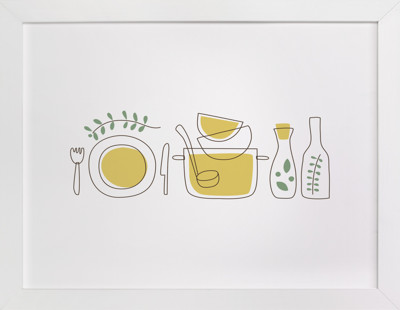 Cooking With Spices and Herbs Art Print