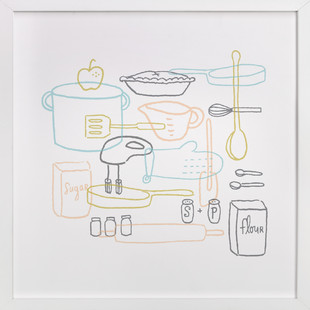 Kitchen Dance Art Print