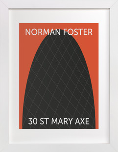 30 St. Mary Axe Art Print