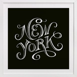Type Study New York Art Print