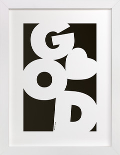 God is Love Art Print