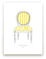 Awning Stripes Art Print